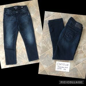 Silver Tuesday Mid Jean Capris